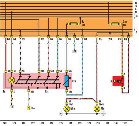 Электрические схемы показывают