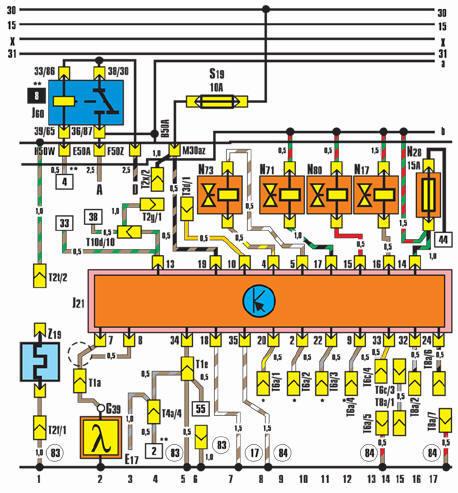 обозначение реле на электрических схемах